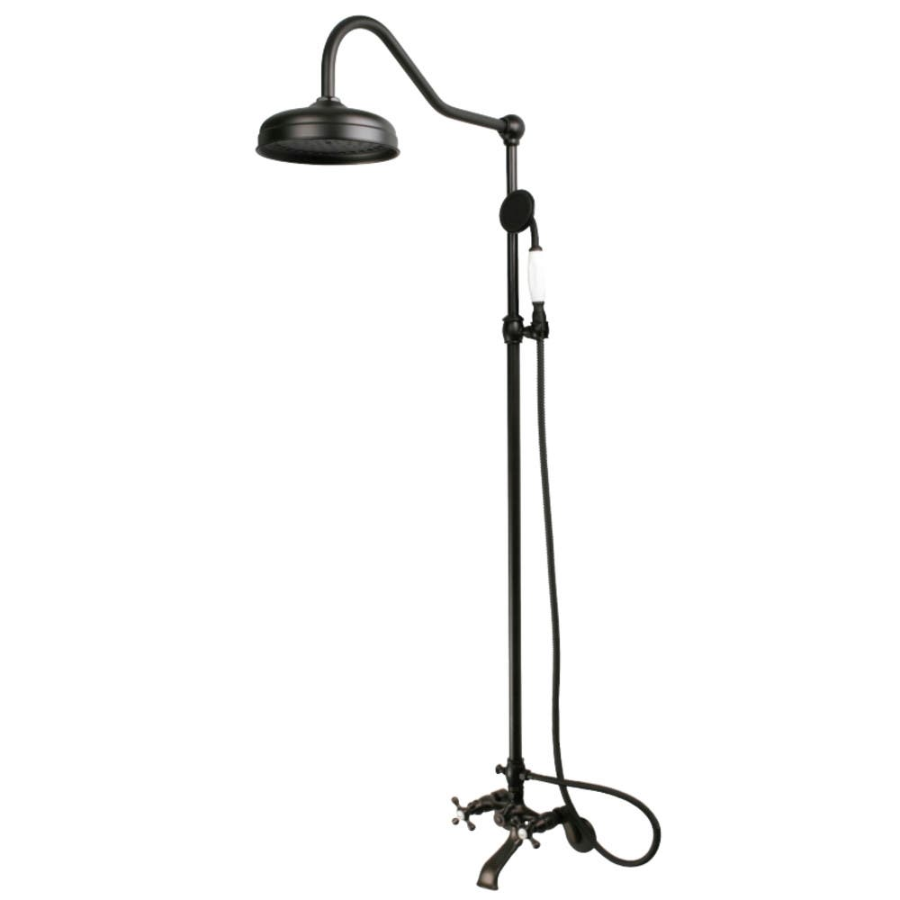 Kingston Brass CCK2665 Vintage Shower Combination, Oil Rubbed Bronze