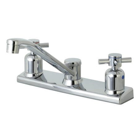 Kingston Brass FB121DX Centerset Kitchen Faucet, Polished Chrome