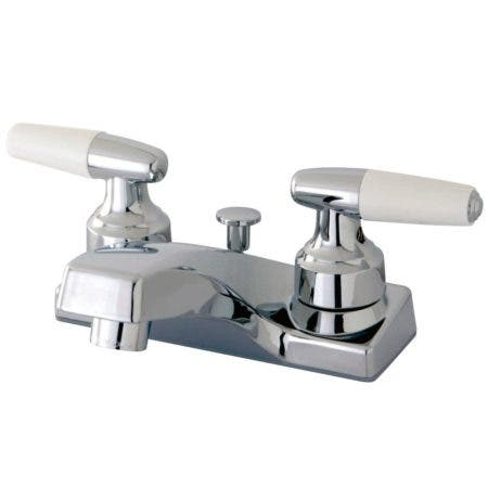 Kingston Brass FB201 4 in. Centerset Bathroom Faucet, Polished Chrome