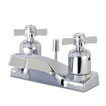 Kingston Brass FB201ZX 4 in. Centerset Bathroom Faucet, Polished Chrome
