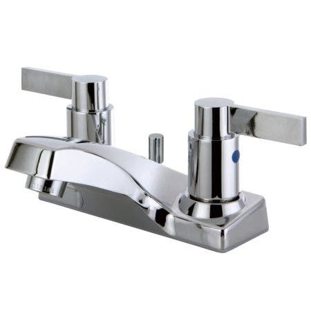 Kingston Brass FB2201NDL 4 in. Centerset Bathroom Faucet, Polished Chrome