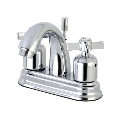 Kingston Brass FB5611ZX 4 in. Centerset Bathroom Faucet, Polished Chrome