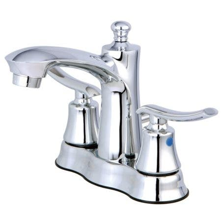 Kingston Brass FB7611JL 4 in. Centerset Bathroom Faucet, Polished Chrome