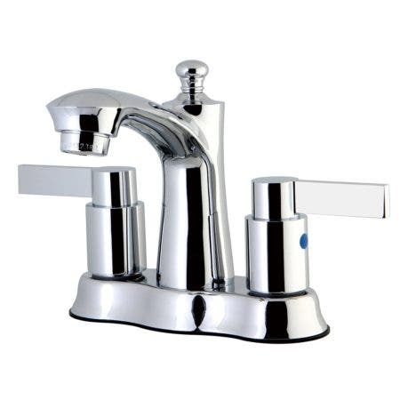 Kingston Brass FB7611NDL 4 in. Centerset Bathroom Faucet, Polished Chrome