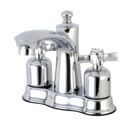 Kingston Brass FB7611ZX 4 in. Centerset Bathroom Faucet, Polished Chrome