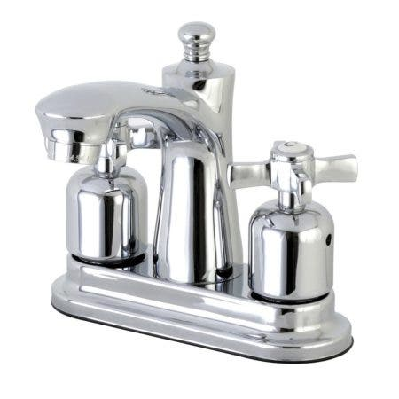 Kingston Brass FB7621ZX 4 in. Centerset Bathroom Faucet, Polished Chrome