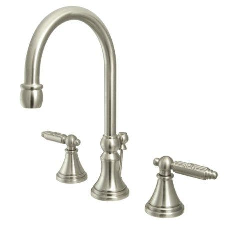 Fauceture FS2988GL 8 in. Widespread Bathroom Faucet, Brushed Nickel