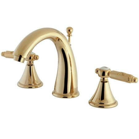 Fauceture FS7982GL 8 in. Widespread Bathroom Faucet, Polished Brass