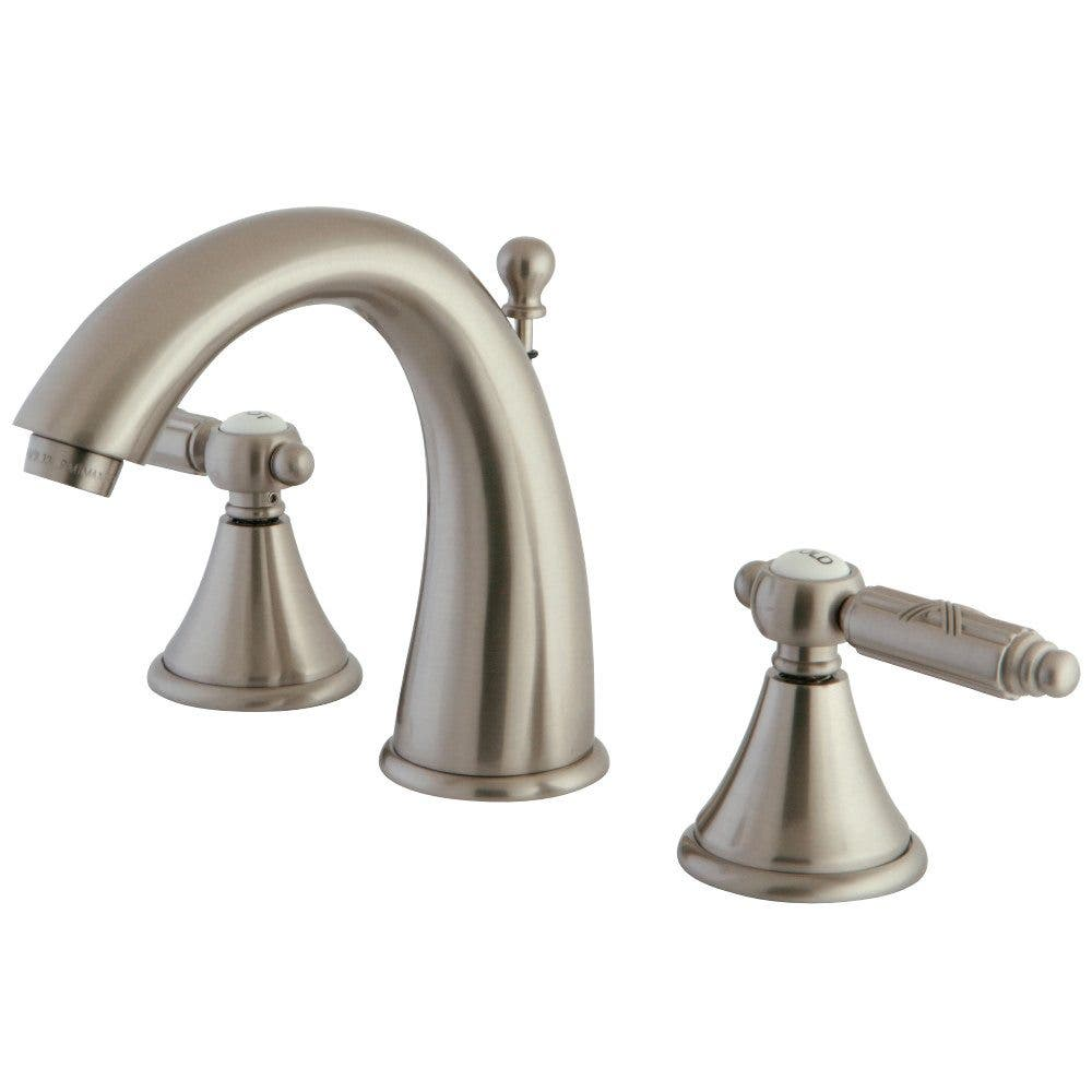 Fauceture FS7988GL 8 in. Widespread Bathroom Faucet, Brushed Nickel