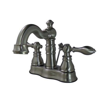 Fauceture FSC1608ACL 4 in. Centerset Bathroom Faucet, Brushed Nickel
