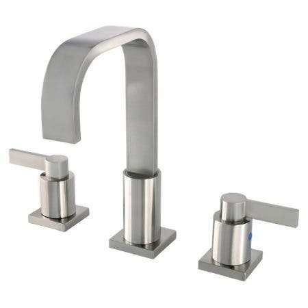 Fauceture FSC8968NDL NuvoFusion Widespread Bathroom Faucet, Brushed Nickel