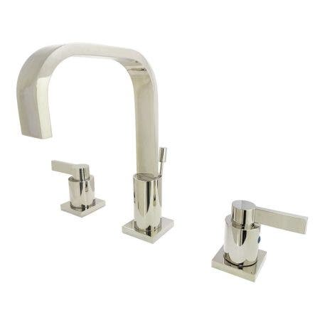 Fauceture FSC8969NDL NuvoFusion Widespread Bathroom Faucet, Polished Nickel