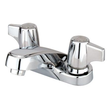 Kingston Brass GKB160LP 4 in. Centerset Bathroom Faucet, Polished Chrome
