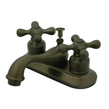 Kingston Brass GKB605AX 4 in. Centerset Bathroom Faucet, Oil Rubbed Bronze