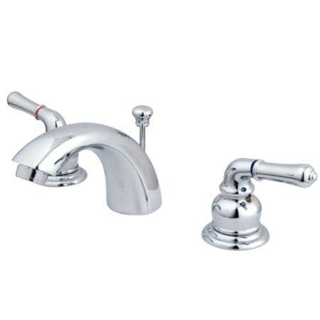 Kingston Brass GKB951 Mini-Widespread Bathroom Faucet, Polished Chrome
