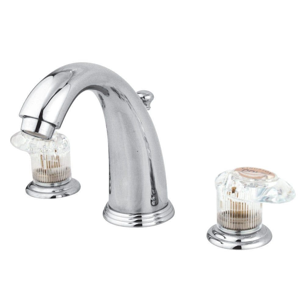 Kingston Brass GKB981ALL Widespread Bathroom Faucet, Polished Chrome
