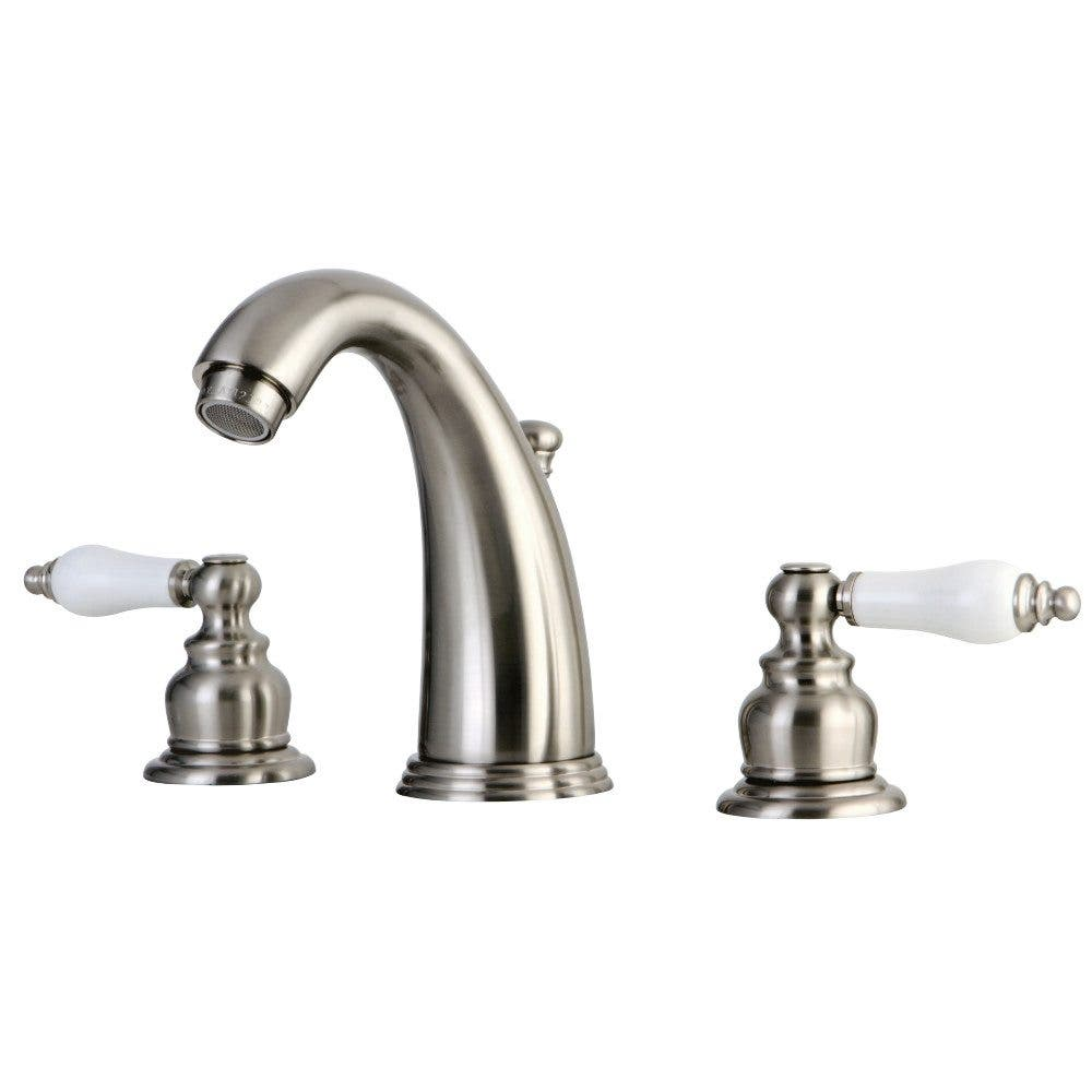 Kingston Brass GKB988PL Widespread Bathroom Faucet, Brushed Nickel