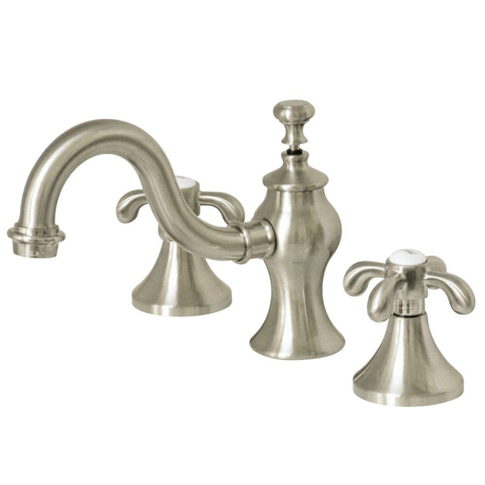Kingston Brass KB8911ZX Millennium Mini Widespread Lavatory Faucet with Retail Pop-Up Polished Chrome