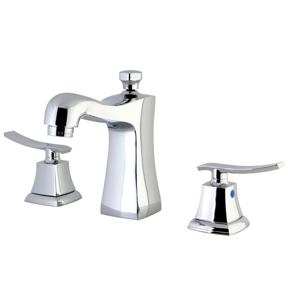 Kingston Brass KB4961JQL 8 in. Widespread Bathroom Faucet, Polished Chrome