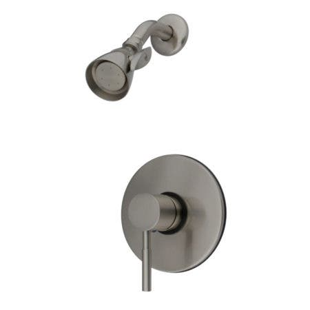 Kingston Brass KB8698DLSO Concord Shower Faucet, Brushed Nickel