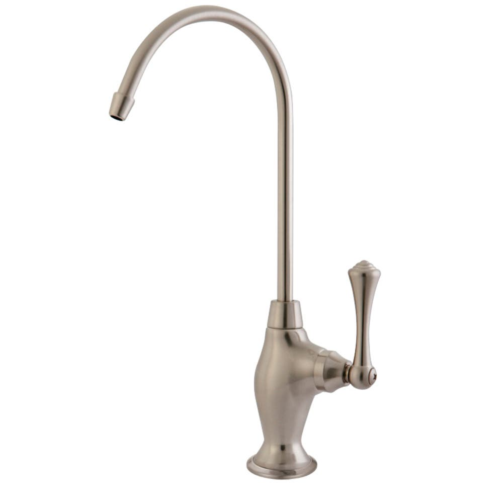 Kingston Brass KS3198BL Vintage Single Handle Water Filtration Faucet, Brushed Nickel