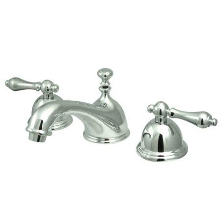 Kingston Brass KS3961AL 8 in. Widespread Bathroom Faucet, Polished Chrome