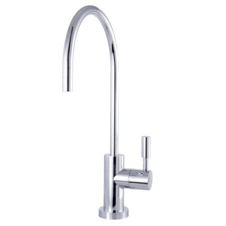 Kingston Brass KSAG8191DL Concord Reverse Osmosis System Filtration Water Air Gap Faucet, Polished Chrome