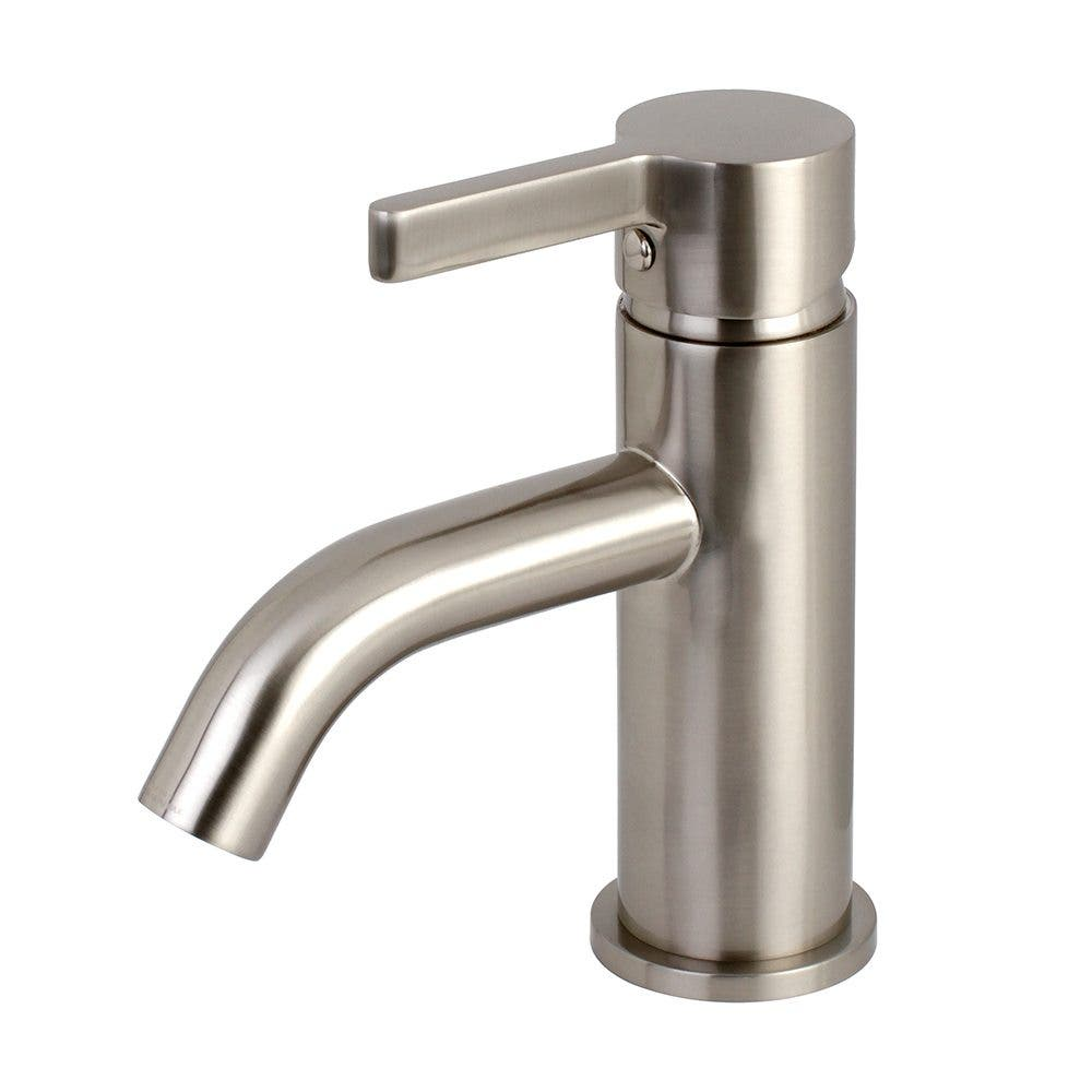 Fauceture LS8228CTL Continental Single-Handle Bathroom Faucet with Push Pop-Up, Brushed Nickel
