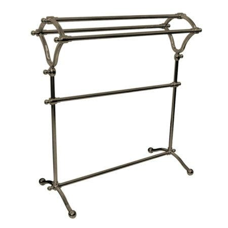 Kingston Brass SCC2288 Pedestal Y-Type Towel Rack, Brushed Nickel