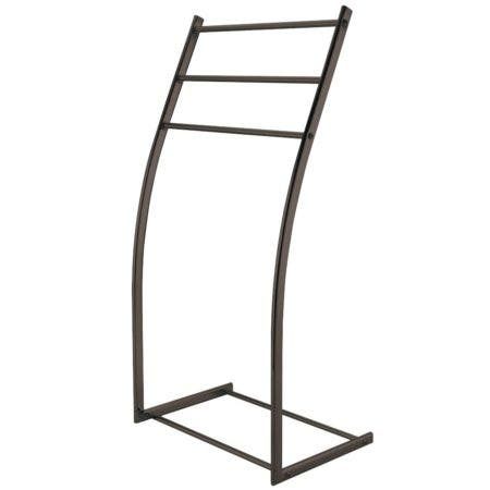 Kingston Brass SCC8255 Pedestal Steel Construction Towel Rack, Oil Rubbed Bronze