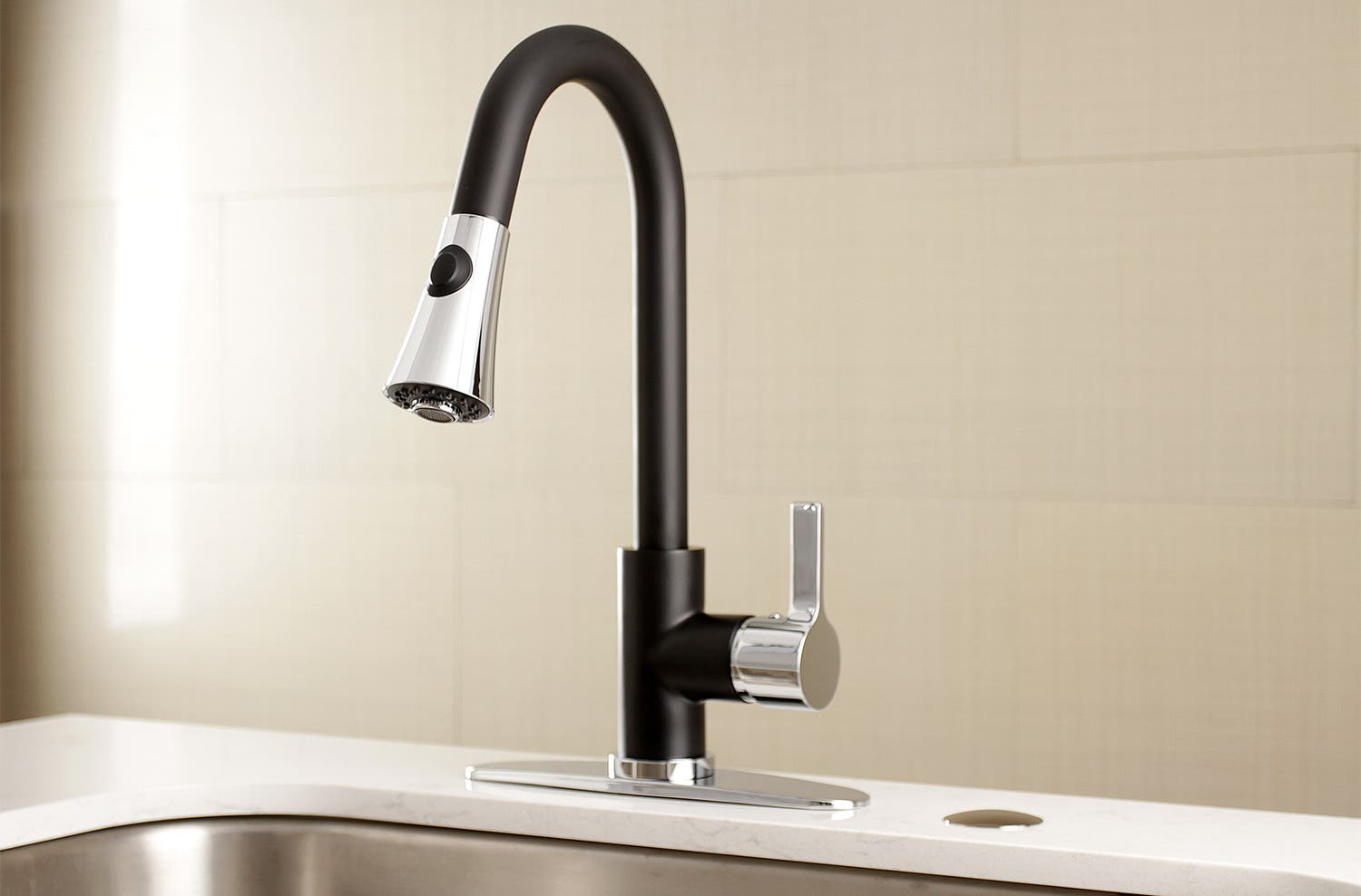 Some Of The Best Kitchen Faucets Kingston Brass Offers Two