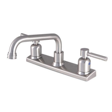 Kingston Brass FB2138DL Concord 8-Inch Centerset Kitchen Faucet, Brushed Nickel