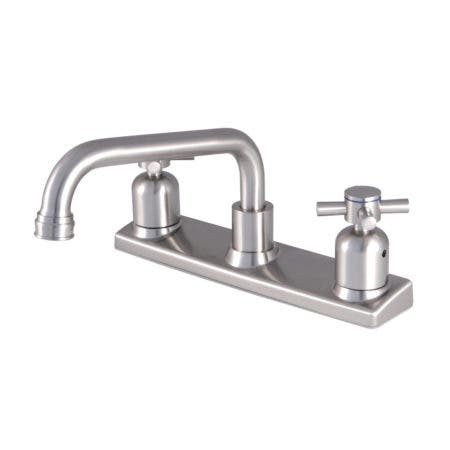 Kingston Brass FB2138DX 8-Inch Centerset Kitchen Faucet