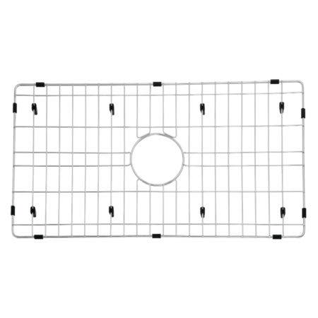 "Gourmetier GKFAWR3018 Arcticstone 26""X14"" Kitchen Sink Grid, Brushed"