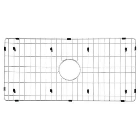 "Gourmetier GKFAWR3318 Arcticstone 29""X14"" Kitchen Sink Grid, Brushed"
