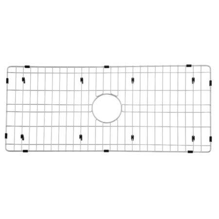 "Gourmetier GKFAWR3618 Arcticstone 32""X14"" Kitchen Sink Grid, Brushed"