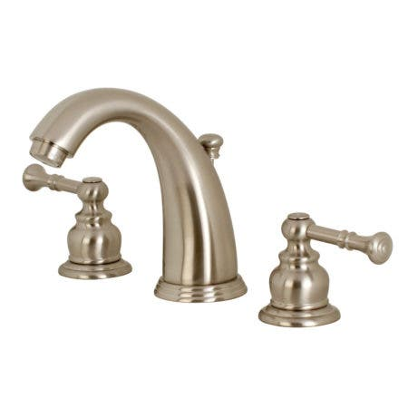 Kingston Brass KB988NL Widespread Lavatory Faucet, Brushed Nickel