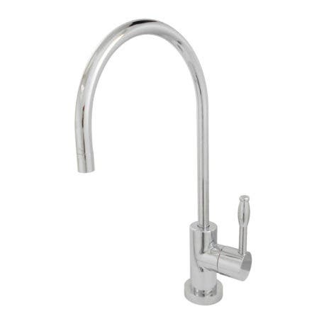 Kingston Brass KS8191NKL Nustudio Single-Handle Cold Water Filtration Faucet, Polished Chrome