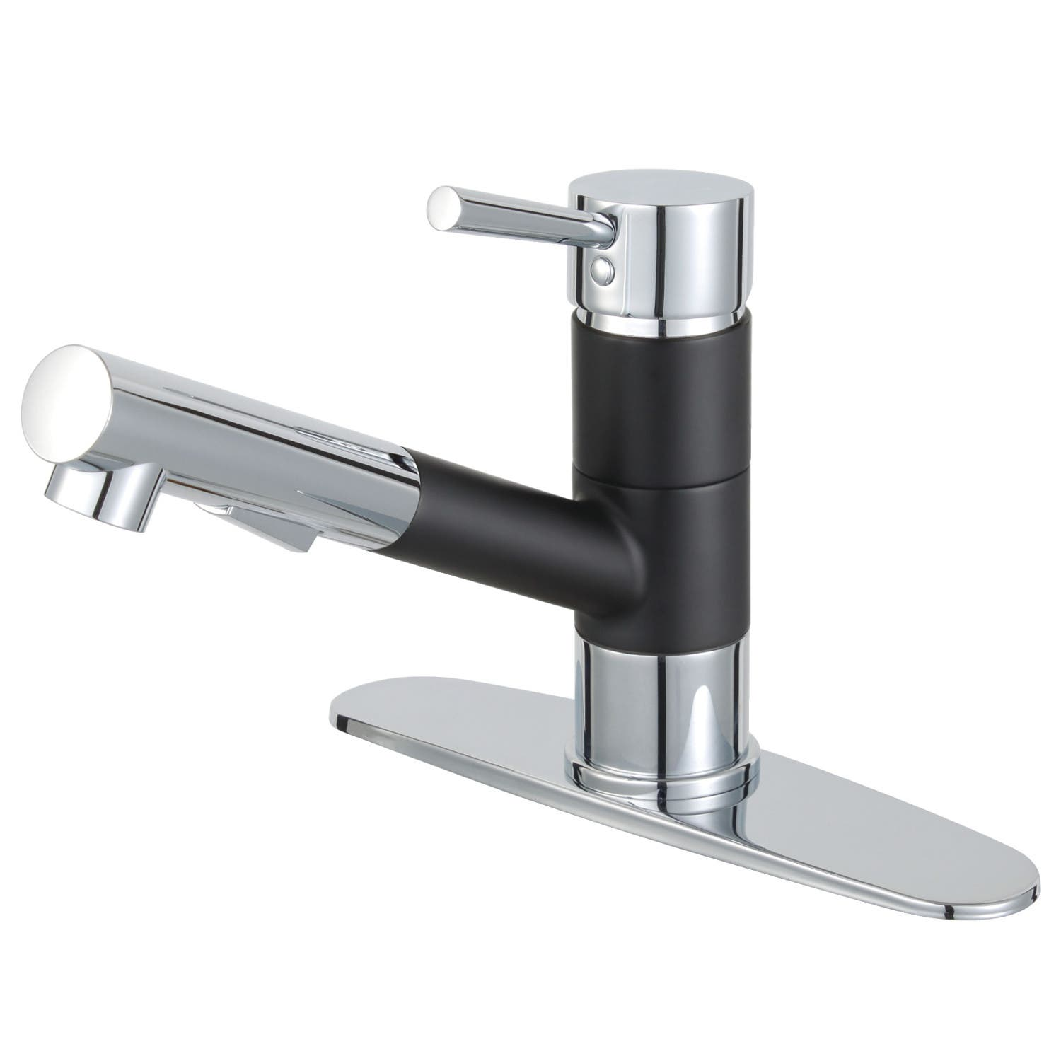 Kingston Brass Ls8407dl Concord Single Handle 1 Hole Deck Mounted