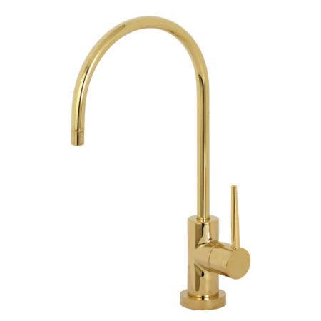 Kingston Brass KS8192NYL New York Single-Handle Cold Water Filtration Faucet, Polished Brass