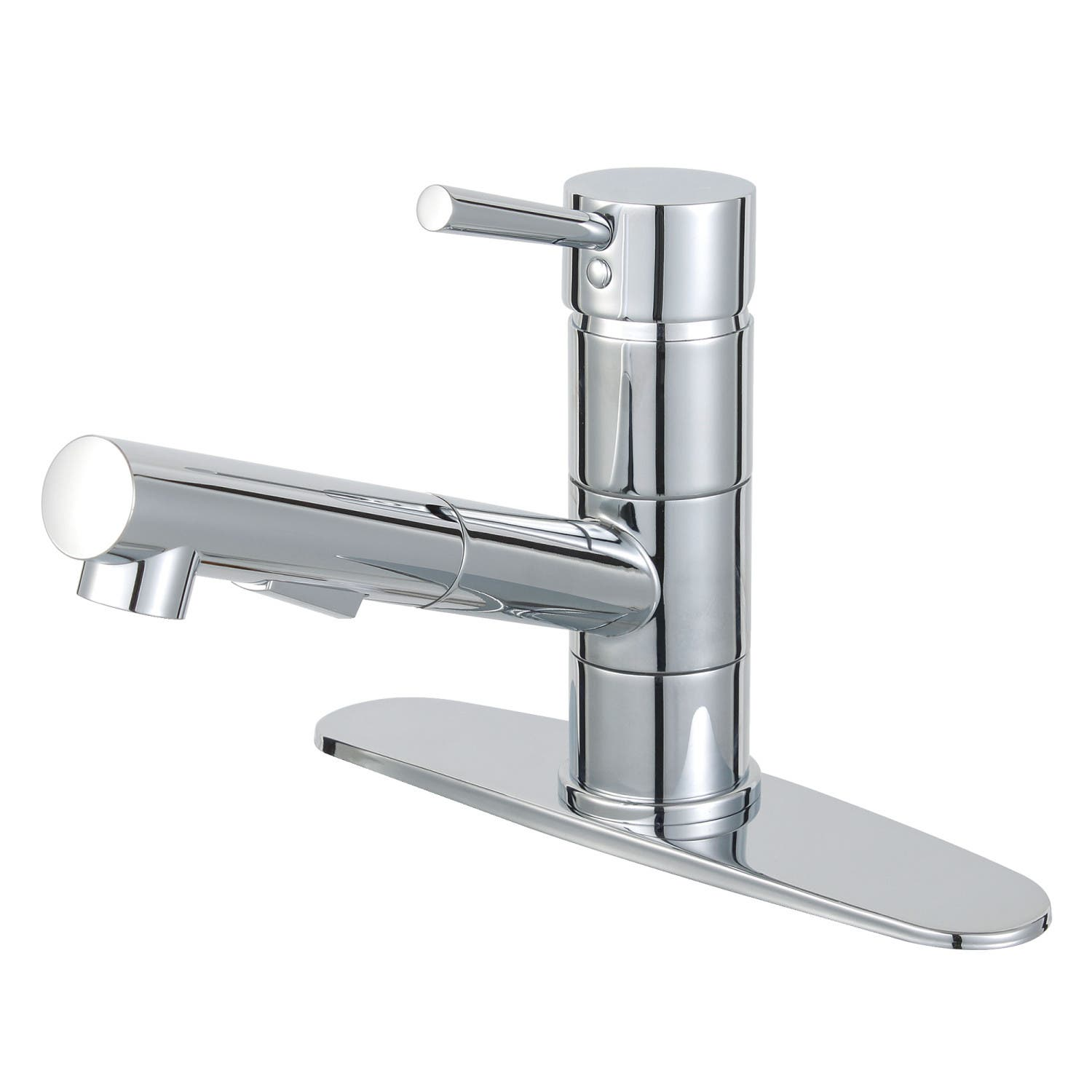 Gourmetier LS8401DL Concord Single-Handle Pull-Out Kitchen Faucet, Polished  Chrome