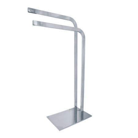 Kingston Brass SCC8001 Edenscape Pedestal Dual Towel Rack