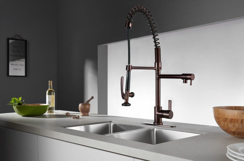 The Continental Kitchen Faucet is fit for a 5-Star ...