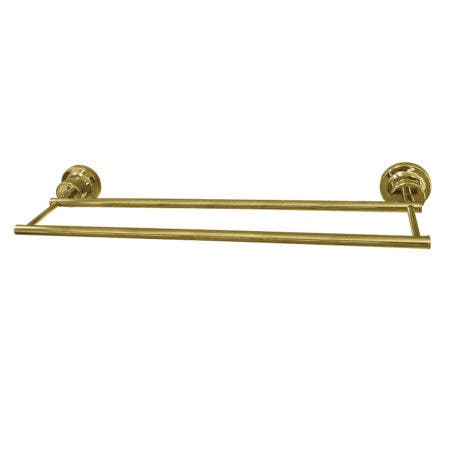 Kingston Brass BAH821318PB Concord 18-Inch Double Towel Bar, Polished Brass