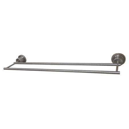 Kingston Brass BAH821318SN Concord 18-Inch Double Towel Bar, Brushed Nickel