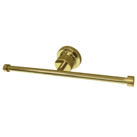 Kingston Brass BAH8218PB Concord Dual Toilet Paper Holder, Polished Brass