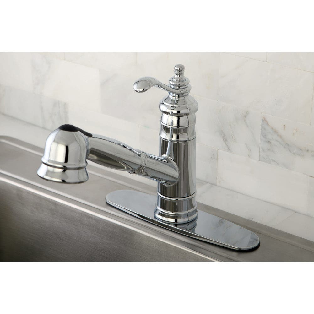 Polished Chrome Pull-Out Kitchen Faucet GS7571TL