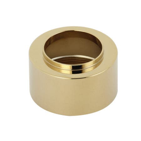 Kingston Brass KST3032 Tub and Shower Sleeve, Polished Brass