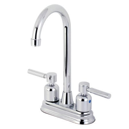 Kingston Brass KB8491DL Concord Bar Faucet, Polished Chrome
