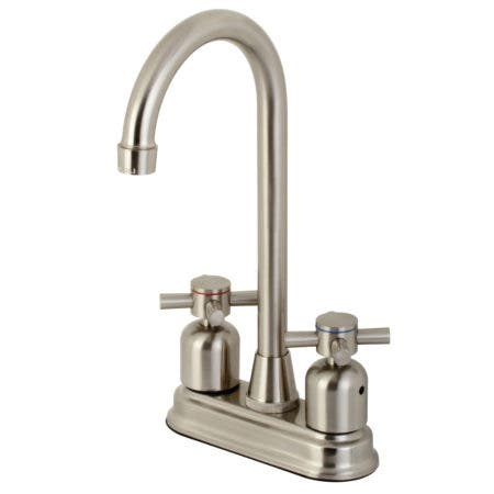 Kingston Brass KB8498DX Concord Bar Faucet, Brushed Nickel